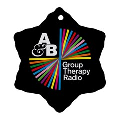 Above & Beyond  Group Therapy Radio Ornament (Snowflake)