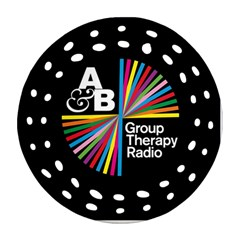 Above & Beyond  Group Therapy Radio Round Filigree Ornament (2Side)
