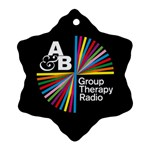 Above & Beyond  Group Therapy Radio Snowflake Ornament (2-Side) Front