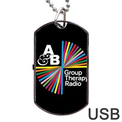 Above & Beyond  Group Therapy Radio Dog Tag USB Flash (Two Sides)