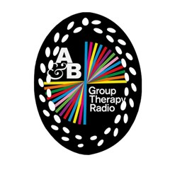 Above & Beyond  Group Therapy Radio Oval Filigree Ornament (2-Side)