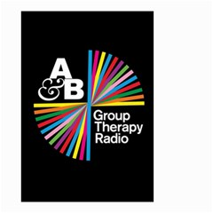 Above & Beyond  Group Therapy Radio Small Garden Flag (Two Sides)