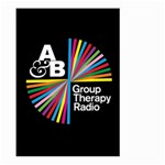 Above & Beyond  Group Therapy Radio Large Garden Flag (Two Sides) Back