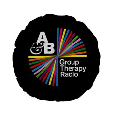 Above & Beyond  Group Therapy Radio Standard 15  Premium Round Cushions