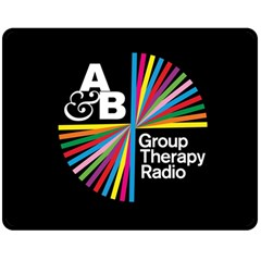 Above & Beyond  Group Therapy Radio Double Sided Fleece Blanket (Medium)
