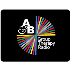 Above & Beyond  Group Therapy Radio Double Sided Fleece Blanket (Large)