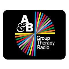 Above & Beyond  Group Therapy Radio Double Sided Flano Blanket (Large)