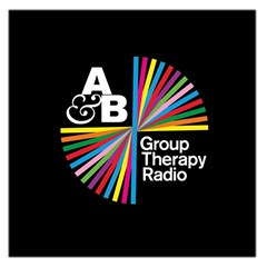 Above & Beyond  Group Therapy Radio Large Satin Scarf (Square)
