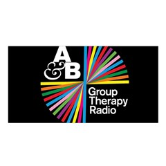 Above & Beyond  Group Therapy Radio Satin Shawl