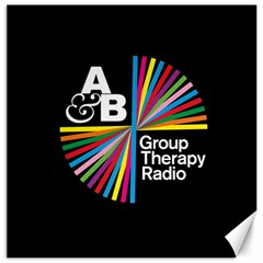 Above & Beyond  Group Therapy Radio Canvas 12  x 12