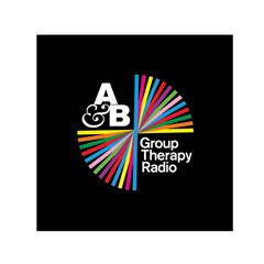 Above & Beyond  Group Therapy Radio Small Satin Scarf (Square)