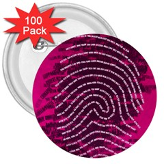 Above & Beyond Sticky Fingers 3  Buttons (100 pack)