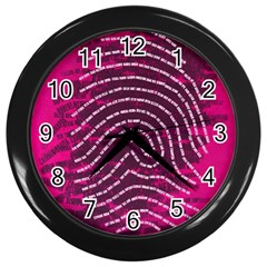 Above & Beyond Sticky Fingers Wall Clocks (Black)