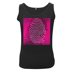 Above & Beyond Sticky Fingers Women s Black Tank Top