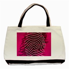 Above & Beyond Sticky Fingers Basic Tote Bag (Two Sides)
