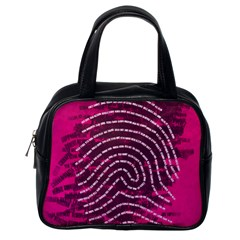 Above & Beyond Sticky Fingers Classic Handbags (One Side)
