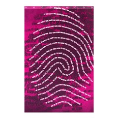 Above & Beyond Sticky Fingers Shower Curtain 48  x 72  (Small)