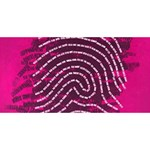 Above & Beyond Sticky Fingers ENGAGED 3D Greeting Card (8x4) Back