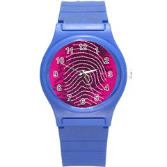 Above & Beyond Sticky Fingers Round Plastic Sport Watch (S)