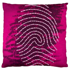 Above & Beyond Sticky Fingers Large Cushion Case (One Side)
