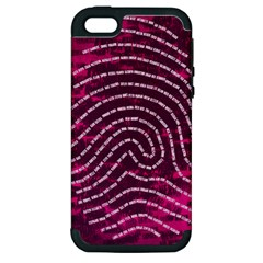 Above & Beyond Sticky Fingers Apple iPhone 5 Hardshell Case (PC+Silicone)