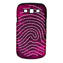 Above & Beyond Sticky Fingers Samsung Galaxy S III Classic Hardshell Case (PC+Silicone)