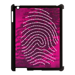 Above & Beyond Sticky Fingers Apple iPad 3/4 Case (Black)