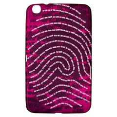 Above & Beyond Sticky Fingers Samsung Galaxy Tab 3 (8 ) T3100 Hardshell Case