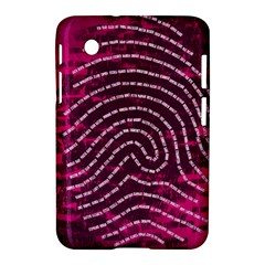 Above & Beyond Sticky Fingers Samsung Galaxy Tab 2 (7 ) P3100 Hardshell Case