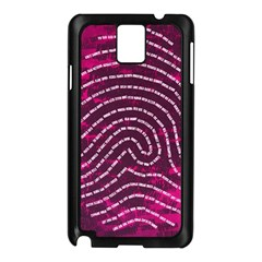 Above & Beyond Sticky Fingers Samsung Galaxy Note 3 N9005 Case (Black)