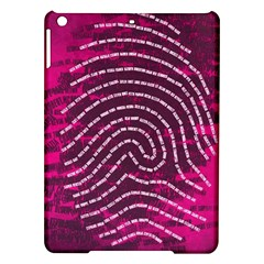 Above & Beyond Sticky Fingers iPad Air Hardshell Cases