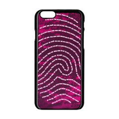 Above & Beyond Sticky Fingers Apple iPhone 6/6S Black Enamel Case