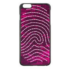 Above & Beyond Sticky Fingers Apple iPhone 6 Plus/6S Plus Black Enamel Case