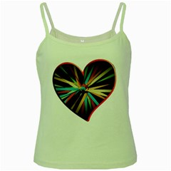 Above & Beyond Green Spaghetti Tank
