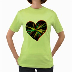 Above & Beyond Women s Green T-Shirt