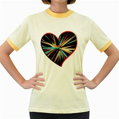 Above & Beyond Women s Fitted Ringer T-Shirts