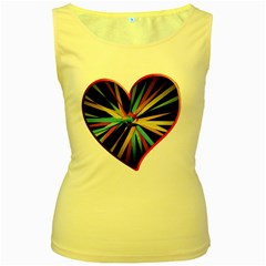Above & Beyond Women s Yellow Tank Top