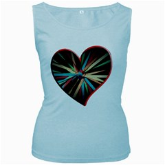 Above & Beyond Women s Baby Blue Tank Top