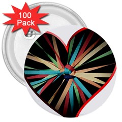 Above & Beyond 3  Buttons (100 pack)