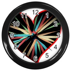 Above & Beyond Wall Clocks (Black)
