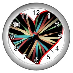 Above & Beyond Wall Clocks (Silver)
