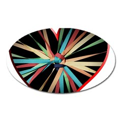 Above & Beyond Oval Magnet