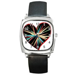 Above & Beyond Square Metal Watch