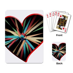 Above & Beyond Playing Card