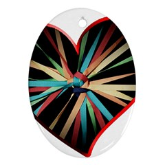Above & Beyond Oval Ornament (Two Sides)