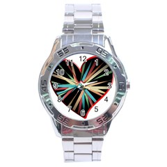 Above & Beyond Stainless Steel Analogue Watch