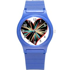 Above & Beyond Round Plastic Sport Watch (S)