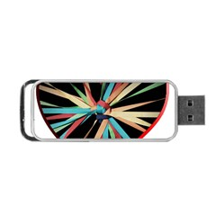 Above & Beyond Portable USB Flash (One Side)