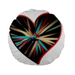 Above & Beyond Standard 15  Premium Flano Round Cushions