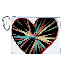 Above & Beyond Canvas Cosmetic Bag (L)